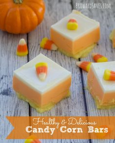 Want to make something fun for Halloween without worrying too much about fat and sugar content? Well these healthy Candy Corn Bars are for you. My kids love them and trust me – They are SO EASY to prepare. 2 ingredients: Jell-O and Yogurt. That's right… nothing fancy or complicated. I applied the same technique as my <em class=short_underline> Valentine's Day Hearts </em>.   I made 16 bars and they were gone in minutes. Even ...