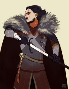 Jon Snow by Kovvu