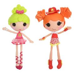 Lalaloopsy Workshop Ballerina/ Cowgirl Double Pack