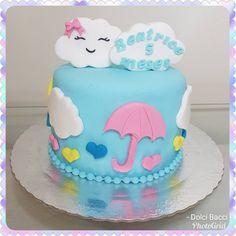 Uma chuva de amor e de fofura para um mesversário da linda Beatrice !!! #bolochuvadeamor #bolochuvadebencaos #festachuvadebencaos #festachuvadeamor #bolomesversario