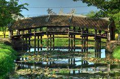 Cầu ngói Thanh Toàn - Huế #travel #Hue #bridge #Vietnam