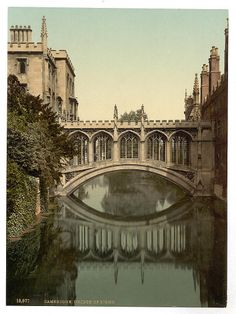 Cambridge, England (Bridge of Sighs) - one of my favorite places on earth I saw this when I went to Europe and was blown away at it's beauty also! Places Around The World, Oh The Places You'll Go, Great Places, Places To Travel, Beautiful Places, Places To Visit, Around The Worlds, Cambridge England, England And Scotland