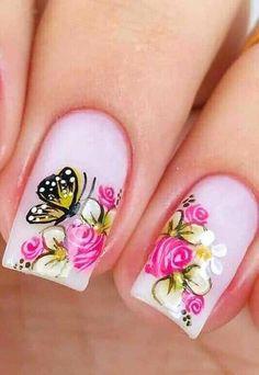 Nail Art, Nails, Beauty, Gorgeous Nails, Pink Nail, Finger Nails, Ongles, Nail Arts, Beauty Illustration