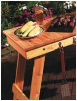 Free DIY Barbecue Furniture Project Plans and Building Guides – Download a bunch of free projects for wooden furniture that's perfect for your cook outs. Photo: A do-it-yourself folding grill table from BirdsAndBlooms.com