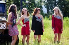 Spoonful of Sugar: Judith March Gameday Dresses