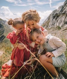 Family in Switzerland
