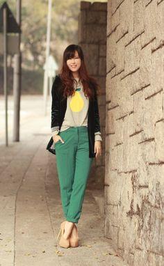 Emerald Green Fashion