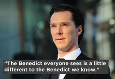 A while back, Simon Pegg talked about his Star Trek co-star, the widely lusted-after Benedict Cumberbatch.