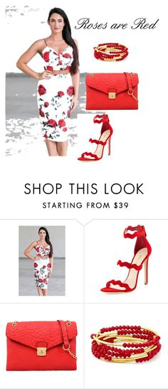 """Roses are Red"" by lena-kontos ❤ liked on Polyvore featuring Prada, Mellow World and Chrysalis"