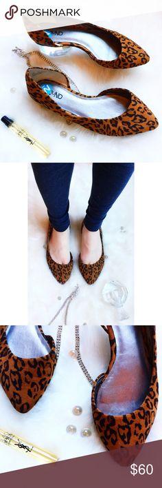ᴀʙᴏᴜɴᴅ ʟᴇᴏᴘᴀʀᴅ ᴍɪɴx ғʟᴀᴛsᴾᴸᵁˢᴴ ᵂᴵᴰᴱ ᵂᴵᴰᵀᴴ NWOT • \\Abound// ᴀʙᴏᴜɴᴅ ʟᴇᴏᴘᴀʀᴅ ᴍɪɴx ғʟᴀᴛs ::: Stylish leopard print pointy flats ::: soft ::: rubber sole ::: [7W] ::: Vegan materials ::: retail stickers still on but no box • Abound Shoes Flats & Loafers