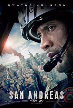 SAN ANDREAS (2015): In the aftermath of a massive earthquake in California, a rescue-chopper pilot makes a dangerous journey with his ex-wife across the state in order to rescue his daughter.