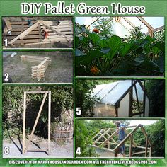 The DIY Pallet Greenhouse brings sustainability back to your backyard. Click the image or website link to find out how this DY project can be done!
