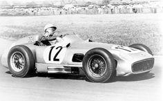 Stirling Craufurd Moss (GBR) (Daimler Benz AG), Mercedes W196 - Mercedes M196 2.5 L8  1955