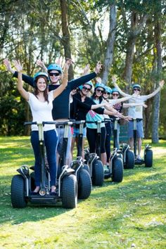 Segway Tours By East Coast Xperiences in the Hunter Valley
