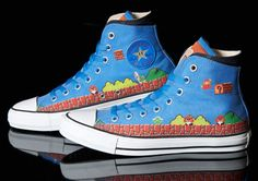 ffd9a91ae9 Our first look at the Super Mario Bros. x Converse Chuck Taylor All Stars  came in April.
