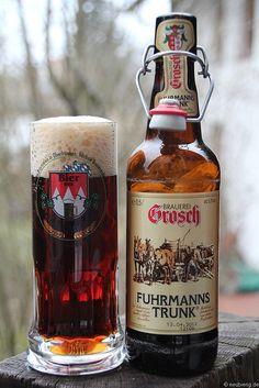 Grosch Fuhrmannstrunk Bier aus Rödental  www.der-grosch.de