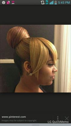 1000 Images About Black Women High Bun Hairstyles On Pinterest High Bun Buns And Natural Hair