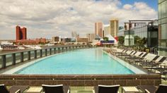 Baltimore Harbor Luxury Hotel Pool | Four Seasons Hotel Baltimore