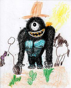 cowboy gorilla monster | Flickr - Photo Sharing!