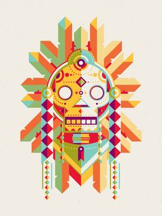 Warrior art print by DKNG $25