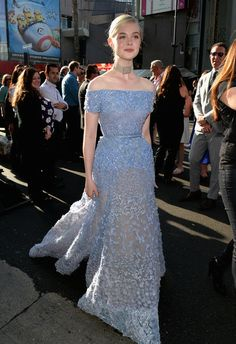 "Elle Fanning - The World Premiere Of Disney's ""Maleficent"""