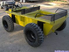 Coot ATV Diy Electric Car, Electric Go Kart, Pedal Boat, Pedal Cars, Go Kart Plans, Cool Vans, Expedition Vehicle, Buggy, Retro Cars