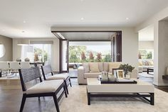 Carmelle 31: Living room, alfresco and dining room