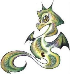 Baby Dragon I dunno who did it
