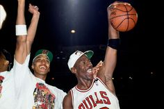 Like Batman and Robin, Michael and Scottie were the dynamic duo of their era. Jordan's accomplishments speak for themselves, as he's still widely considered the best player in NBA history, but Pippen had a