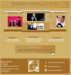 Emailing de lanzamiento de Band a Management