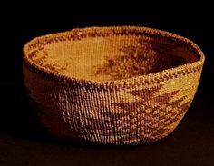 "Basket (""blackbirds flocking"" Design)"