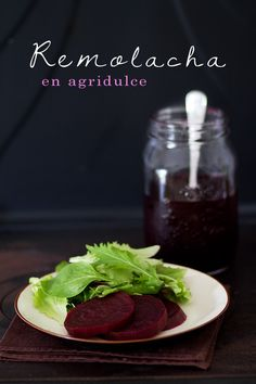 Remolacha en agridulce | Recetas Fáciles de Cocina: A mi lo que me gusta es cocinar