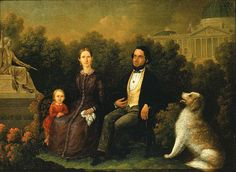 Family Group before United States Capitol, ca. 1850, oil on canvas, 22 7/8 x 30 1/4 in. (58.2 x 76.9 cm), Smithsonian American Art Museum, Museum purchase, 1968.36