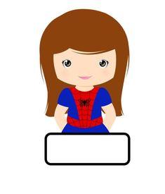 11755807_899992953417170_6588802279983685292_n Superhero Classroom Theme, Classroom Labels, Classroom Themes, Classroom Activities, Chibi Superhero, Superhero Kids, Baby Birthday Themes, Kids Class, Cute Clipart