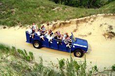 saugatuck michigan- dune rides are amazing!
