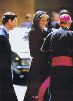 On April 29th in 1985 Prince Charles and Princess Diana visited the Vatican in Rome to attend a private audience with his holiness the Pope John Paul II.