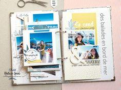Mini Albums Scrap, Scrapbooking, Creations, Polaroid Film, Illustration, Travel, Digi Stamps, Mint Color, Adventure