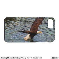 Hunting Mature Bald Eagle Wildlife Art iPhone 5 Case