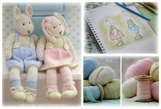 2 Knitting Pattern Deal/ LILY & by maryjanestearoom on Etsy