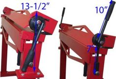 36 Brake Bender with Stand Sheet Metal Bending Plate Bender 12 Gauge