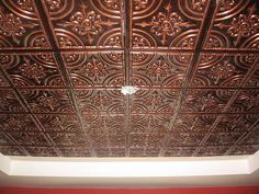 faux tin ceiling tile