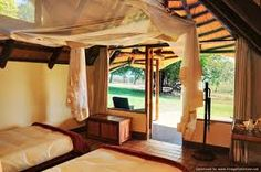 Relax in luxury in Victoria Falls at the Elephant Camp and Imbabala Zambezi Safari Lodge.