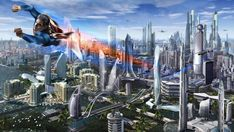 Metropolis by uncannyknack on DeviantArt Superman Pictures, Comic Book Printing, Steel Image, Superman Art, All We Know, Man Of Steel, Olympians, Character Description, Detailed Image