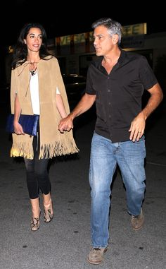 Her Outfit Costs What?! Amal Clooney's $7,803 Date Night Style Amal Clooney, George Clooney