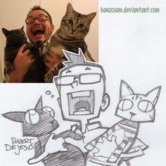 Catmaths Sketch by Banzchan on deviantART