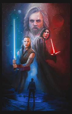 realjburnsFinished this The Last Jedi poster for Star Wars Day!May the Fourth be with you!!!