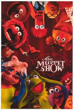 The Muppets Muppet Show Cast TV Show Poster 12x18