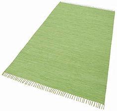 Teppich, Theko, »Happy Cotton«, Melange-Effekt, handgewebt, reine Baumwolle