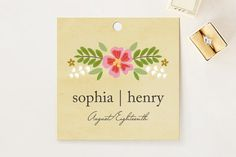 Wedding Favor Tags | Minted