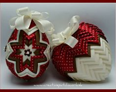 Collection elegant easter egg and heart, you can find at www.creativepatchwork.sk